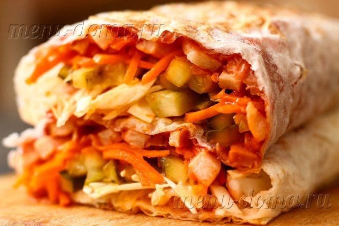 Шаурма со свининой: пошаговый рецепт с фото и видео. как сделать домашнюю шаурму со свининой?