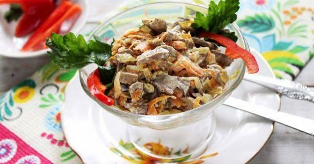 Азу из печени с солеными огурцами - 10 пошаговых фото в рецепте