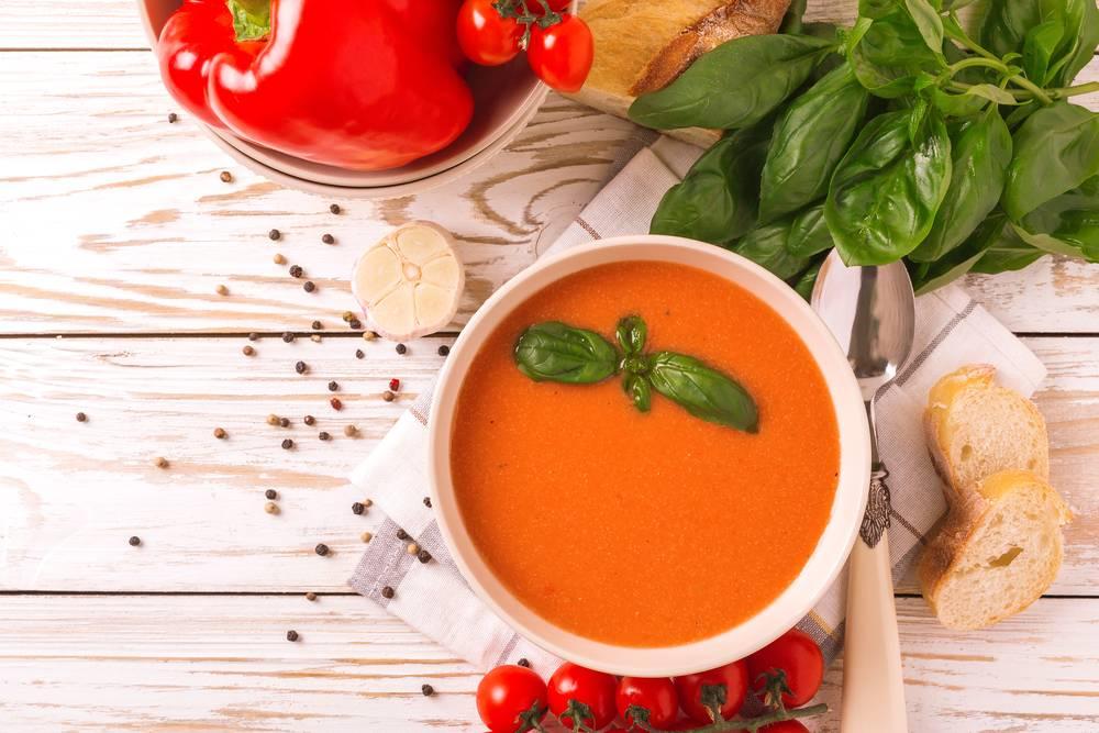 Гаспачо - холодный суп - рецепты джуренко
