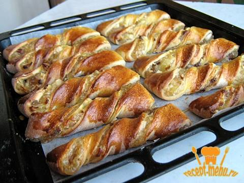 Духовые пирожки с яблоками