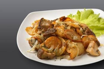 Картошка с грибами. рецепты жареной, тушеной, запеченной, с белыми, замороженными, маринованными