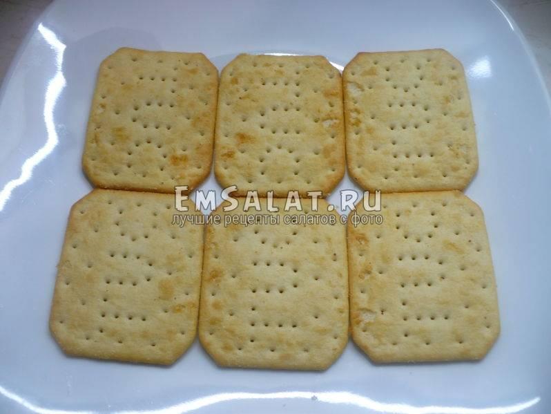 Соленый крекер с луком