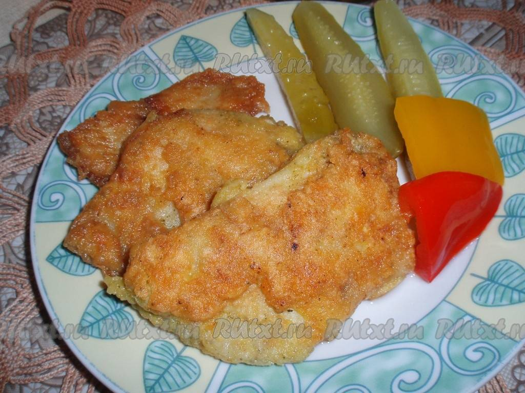 Жареная рыба в панировке