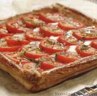 Пицца наслоеном тесте