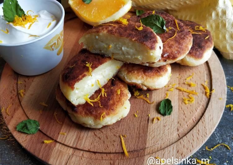Сырники апельсиновые: рецепт с фото