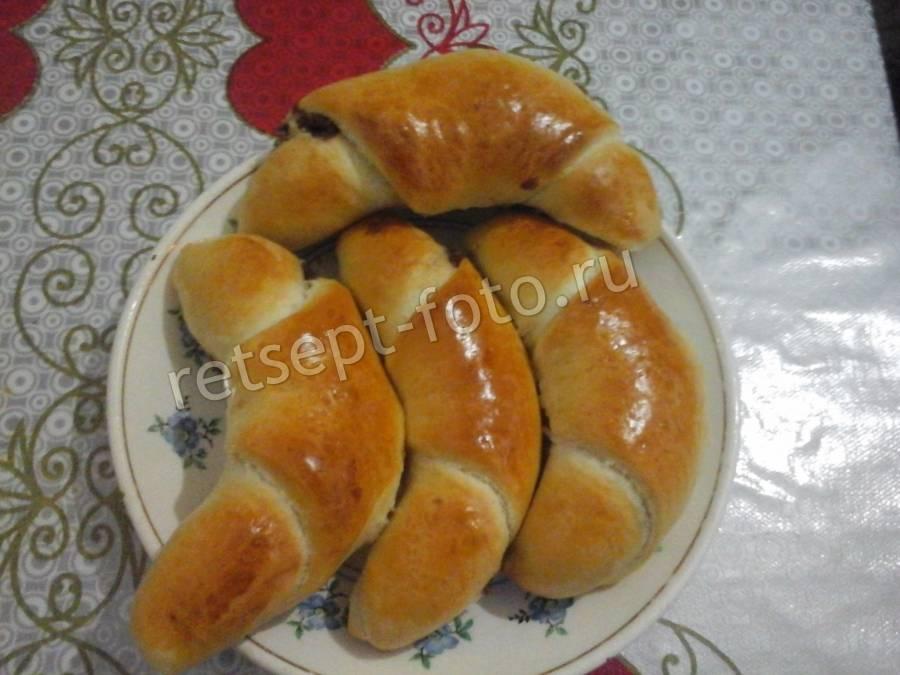 Рогалики с заварным кремом - рецепт с фотографиями - patee. рецепты