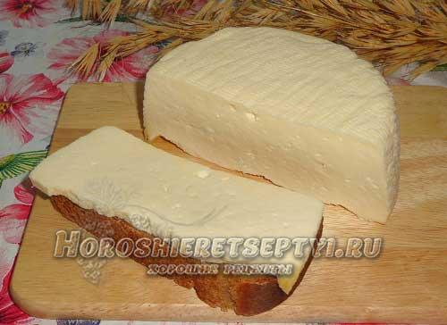 Рецепт домашнего сыра из молока и сметаны