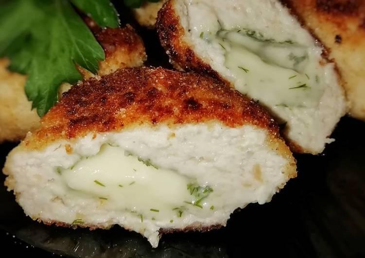 Как приготовить котлеты из курицы с плавленым сыром