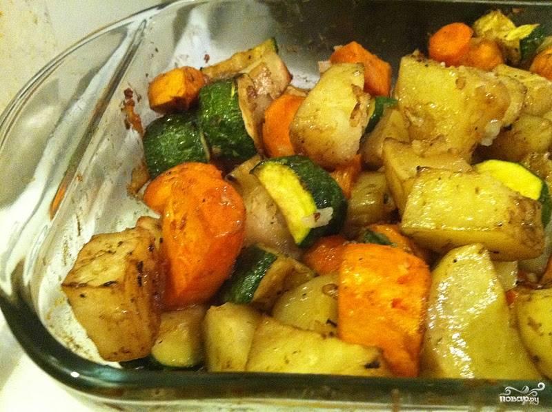 Картошка, запеченная в духовке