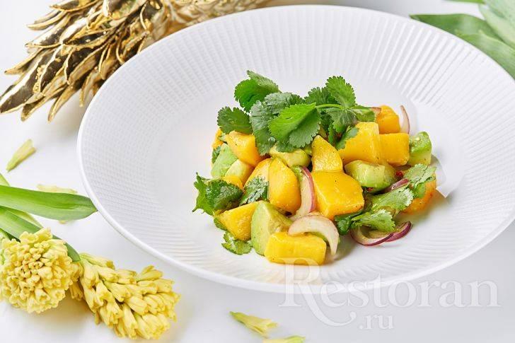 Салаты с фруктами и ягодами. рецепты от сибмам с фото