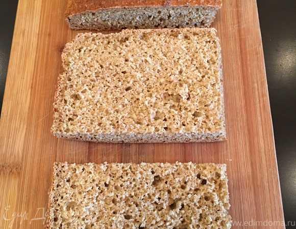 Хлеб для диеты дюкана в микроволновке
