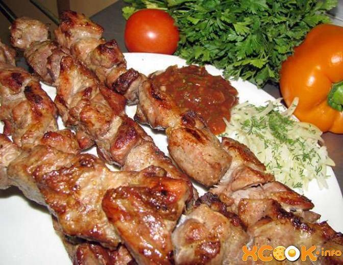 Шашлык по-армянски из свинины рецепт