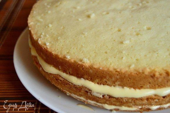 Ежевичный торт с лимонным кремом