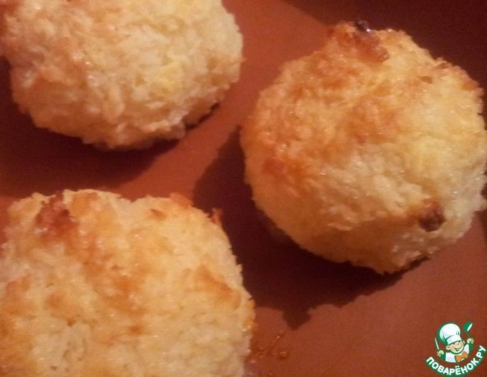 """Печенье """"кокосовые шарики"""""""