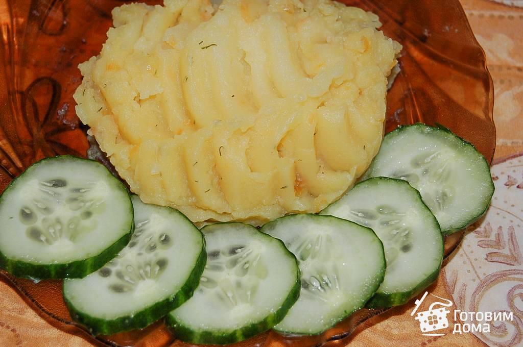 Пюре из кабачков и картофеля