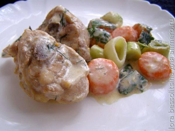 Идеальное праздничное блюдо - курица в сливках