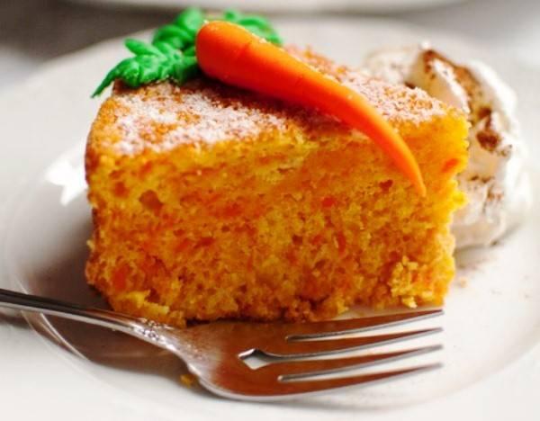 "Морковный пирог ""коврижка"""