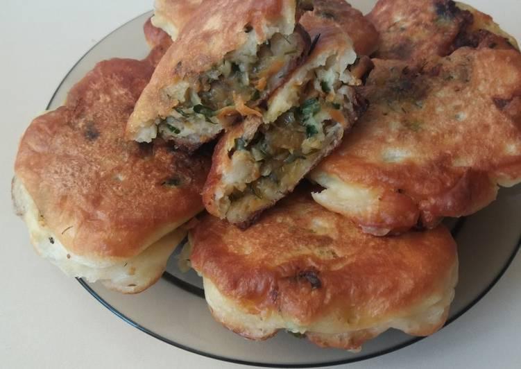 Ленивые беляши. как приготовить ленивые беляши с мясом на кефире, сметане, молоке: рецепты