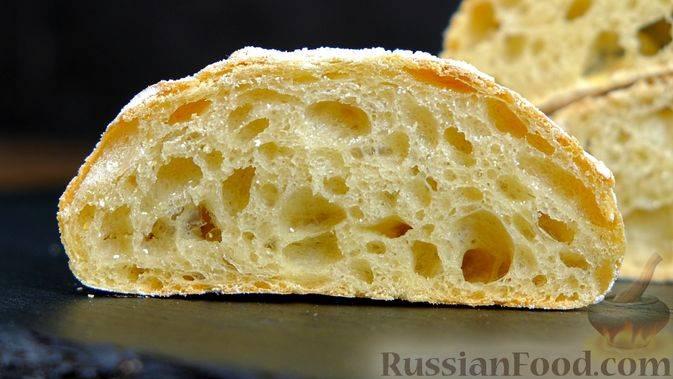 Итальянский хлеб - лучшие рецепты самой популярной выпечки