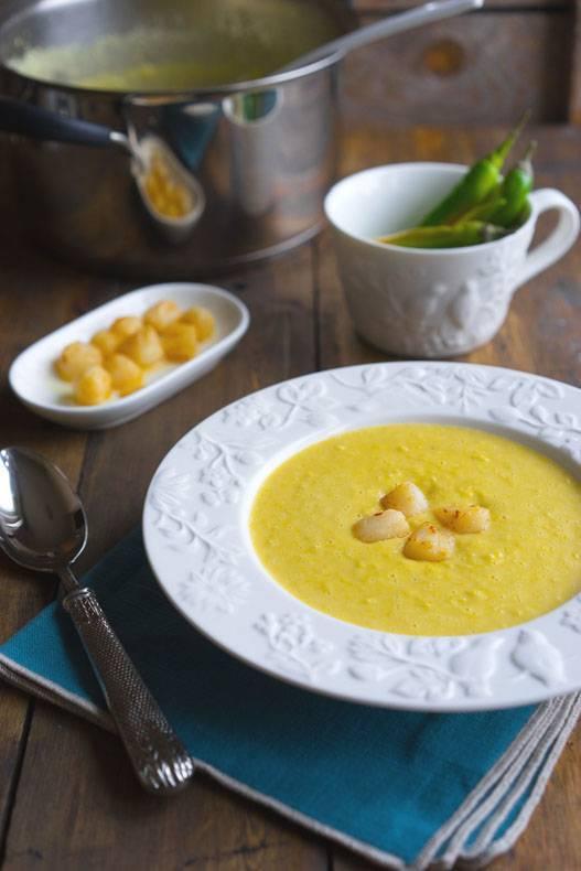 Суп чаудер кукурузный