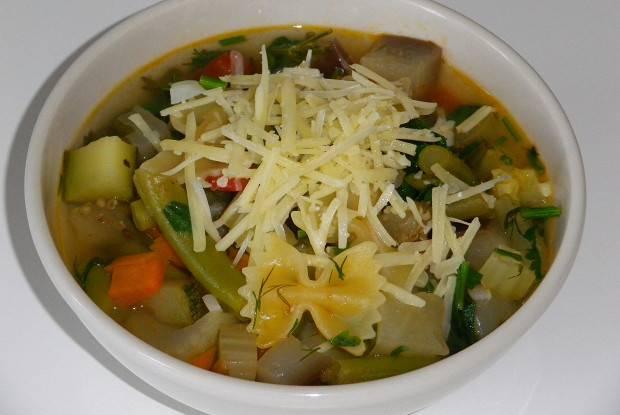 Как правильно приготовить классический суп минестроне (minestrone)