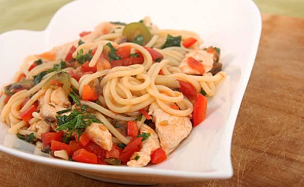 Паста с курицей - пошаговые рецепты с фото. как вкусно приготовить макароны с куриным мясом и соусом
