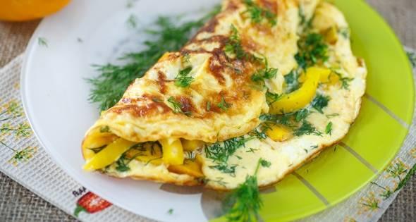 Это не просто омлет, а великолепный рецепт классического французского омлета с ветчиной и сыром