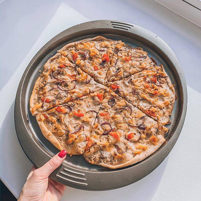 Грибная пицца. пошаговый рецепт с фото • кушать нет