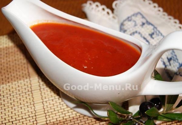 Как приготовить томатный соус в домашних условиях - 9 пошаговых фото в рецепте