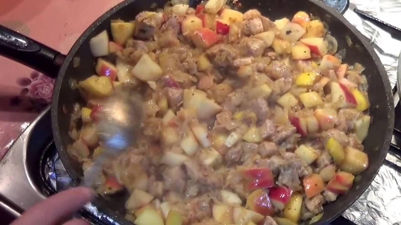 Второе из свинины - 999 домашних вкусных рецептов приготовления
