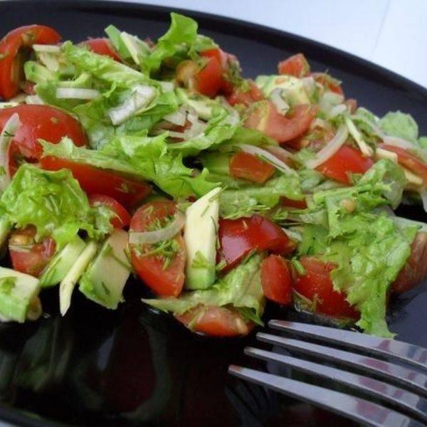 Салат за 5 минут рецепты простой вкусные