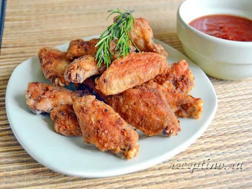 Куриные крылышки в духовке: 7 рецептов к пиву
