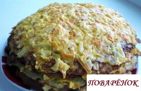 Кабачковый пирог из кабачков - 11 домашних вкусных рецептов