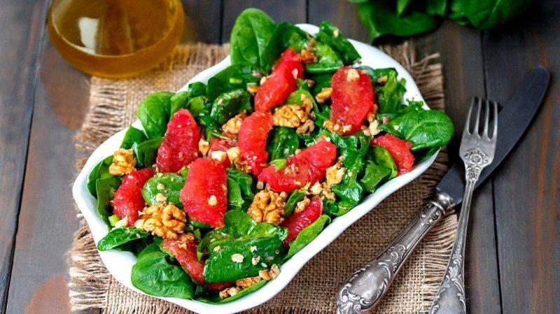 Салат из арбуза с помидорами — рецепт салата с фото