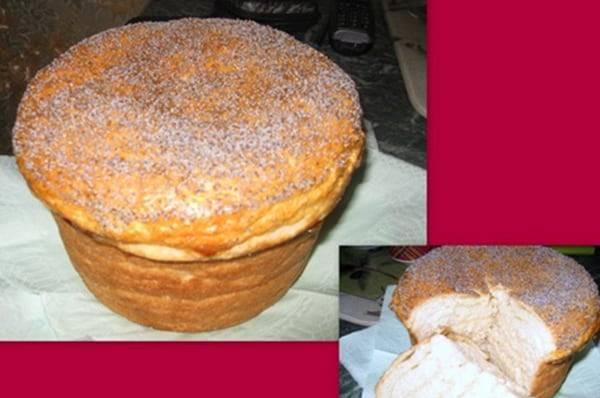 "Сербский хлеб ""погачице"" на топленом молоке"