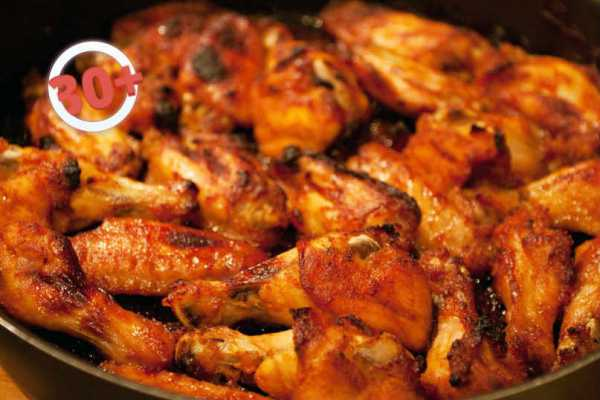 Хрустящие куриные крылышки - рецепт с фотографиями - patee. рецепты