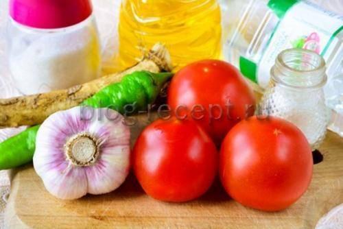Закуска из хрена – пикантное домашнее блюдо. готовим вкусную и остренькую закуску из хрена с добавлением овощей и фруктов