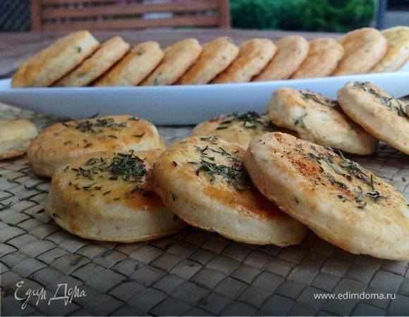 Крекер с сыром - рецепт с фотографиями - patee. рецепты