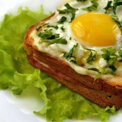 Бутерброды на завтрак: пошаговый рецепт с фото