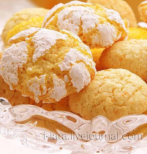 """Печенье """"апельсиновая нежность"""""""