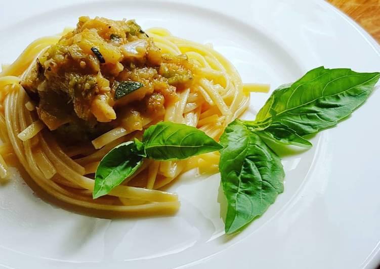 Макароны с овощами (по-итальянски постные): рецепты с фото