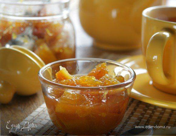 Классический рецепт варенья из кабачков с апельсинами и лимонами