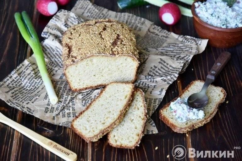 Хлеб по дюкану в микроволновке на атаке