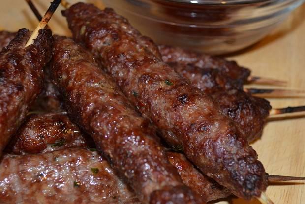 Люля-кебаб из свинины - рецепты джуренко