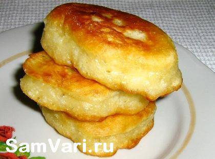 Оладьи из творога рецепт с фото пошагово