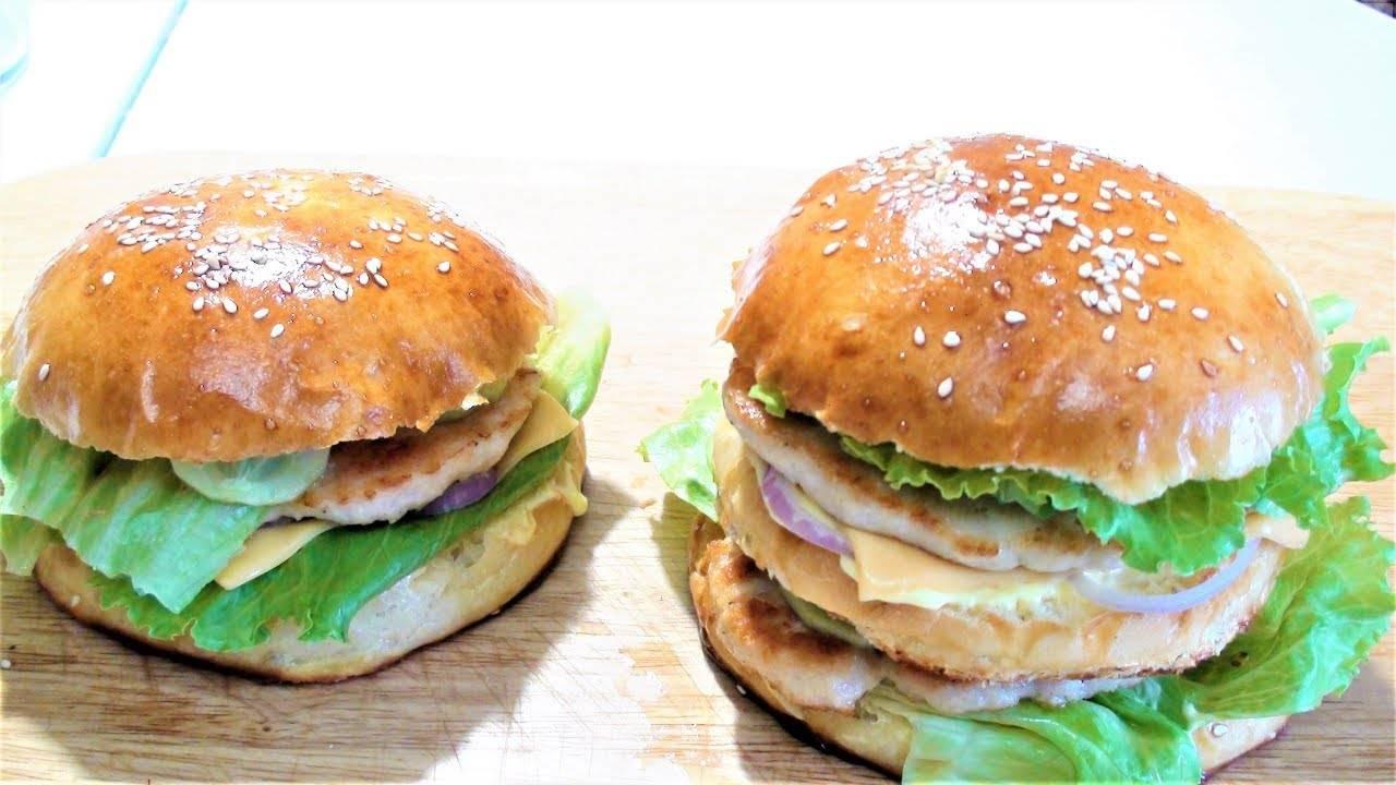 Чикенбургер рецепт с фото, как приготовить чикенбургер в домашних условиях