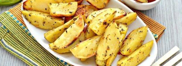 Пошаговый рецепт приготовления картошки с сыром в духовке