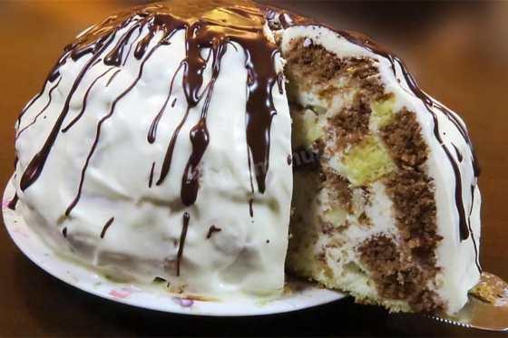 Классический пошаговый рецепт торта панчо с фото