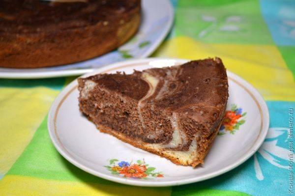 Творожный кекс на сыворотке