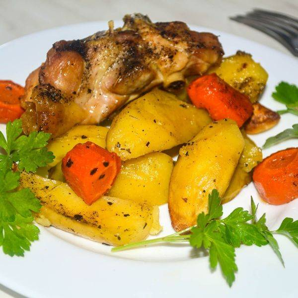 Куриные голени с сыром в духовке - 7 пошаговых фото в рецепте